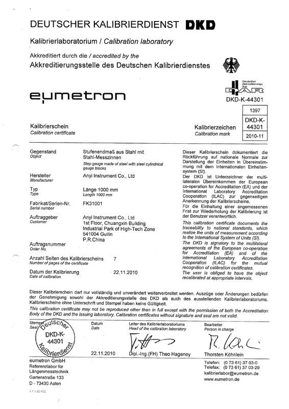 calibration of vernier caliper pdf